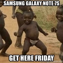 Success African Kid - SAMSUNG GALAXY NOTE 7s GET HERE FRIDAY