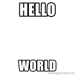 Deal With It - hello world