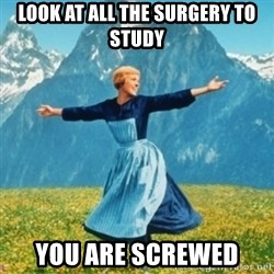 Sound Of Music Lady - Look at all the surgery to study You are screwed