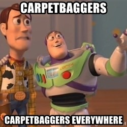 buzz light - Carpetbaggers Carpetbaggers everywhere