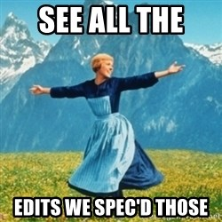 Sound Of Music Lady - See All The  Edits We Spec'd Those
