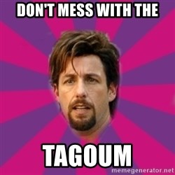 zohan - don't mess with the tagoum