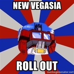 Optimus Prime - NEW VEGASIA ROLL OUT