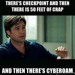 50 feet of Crap - There's Checkpoint and then there is 50 feet of crap and then there's cyberoam
