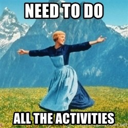 Sound Of Music Lady - NEED TO DO ALL THE ACTIVITIES