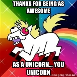 Lovely Derpy RP Unicorn - Thanks for being as awesome as a unicorn... you unicorn