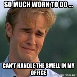 Thank You Based God - So much work to do ... Can't handle the smell in my office