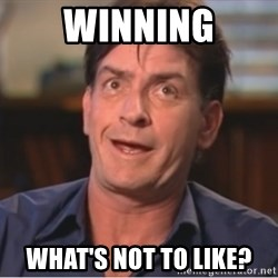 Sheen Derp - winning what's not to like?
