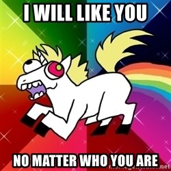 Lovely Derpy RP Unicorn - I will like you no matter who you are