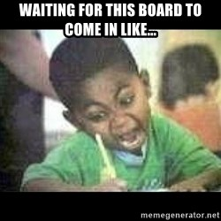 Black kid coloring - WAITING FOR THIS BOARD TO COME IN LIKE...