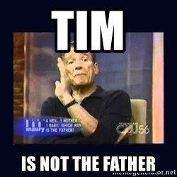 Maury Povich Father - Tim Is not the father