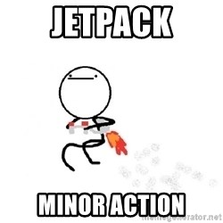 Nothing To Do Here (Draw) - Jetpack Minor Action
