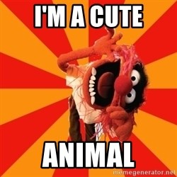 Animal Muppet - I'm a cute Animal