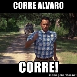 run forest - Corre Alvaro Corre!