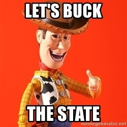Perv Woody - Let's Buck The State