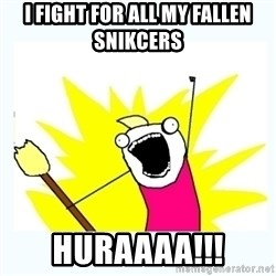 All the things - I FIGHT FOr ALL MY FALLEN SNIKCERS HURAAAA!!!