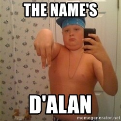 Cookie Gangster - The name's D'Alan
