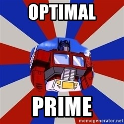 Optimus Prime - Optimal Prime