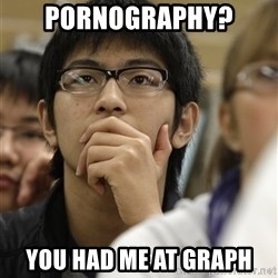 Asian College Freshman - Pornography? You had me at graph