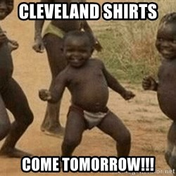 Success African Kid - Cleveland shirts  Come tomorrow!!!