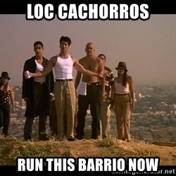 Blood in blood out - Loc cachorros Run this barrio now