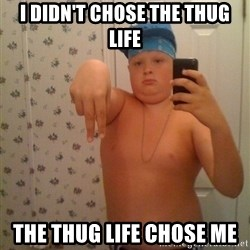 Cookie Gangster - i didn't chose the thug life the thug life chose me