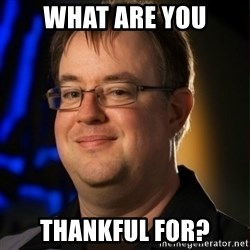 Jay Wilson Diablo 3 - What are you thankful for?