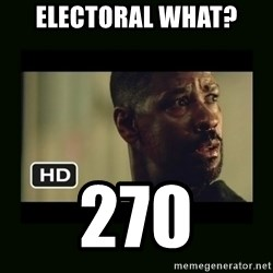 Alonzo Training Day - Electoral What?  270