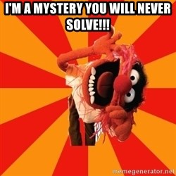 Animal Muppet - I'm a mystery you will never solve!!!