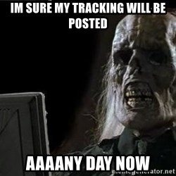 OP will surely deliver skeleton - im sure my tracking will be posted aaaany day now