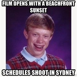 nerdy kid lolz - Film opens with a beachfront sunset schedules shoot in sydney