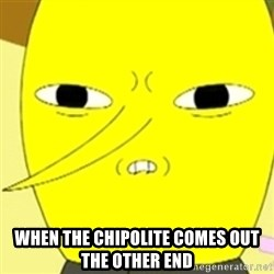 LEMONGRAB -  when the chipolite comes out the other end