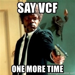 Jules Say What Again - SAY VCF one more time