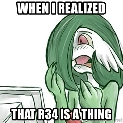 Pokemon Reaction - When i realized That R34 is a thing