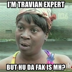 Everybody got time for that - i'm travian expert but hu da fak is mh?