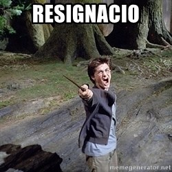 Pissed off Harry - RESIGNACIO