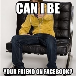 Justin Bieber Pointing - Can I Be  Your Friend On Facebook?