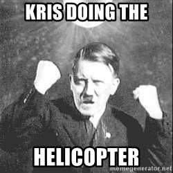 Disco Hitler - kris doing the HELICOPTER