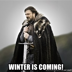 ned stark as the doctor -  Winter is coming!