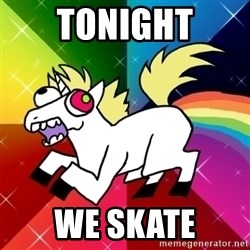 Lovely Derpy RP Unicorn - TONIGHT WE SKATE