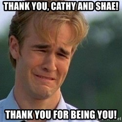 Thank You Based God - Thank you, Cathy and Shae! Thank you for being you!