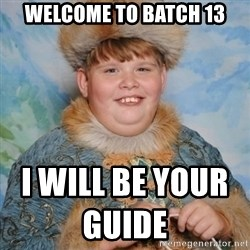 welcome to the internet i'll be your guide - welcome to batch 13 i will be your guide