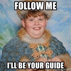 welcome to the internet i'll be your guide - follow me i'll be your guide