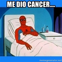 spiderman sick - Me dio cancer....