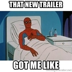 SpiderMan Cancer - That new trailer got me like