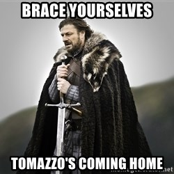 ned stark as the doctor - Brace yourselves Tomazzo's coming home