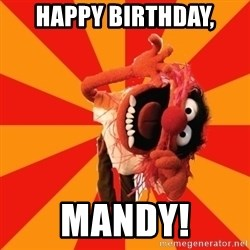 Animal Muppet - Happy Birthday, Mandy!