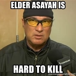 Steven Seagal Mma - Elder AsaYah is Hard to kill