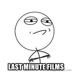 Challenge Accepted HD 1 -  Last Minute Films