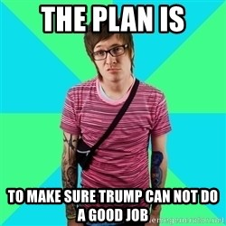 Disingenuous Liberal - the plan is To make sure Trump can not do a good job